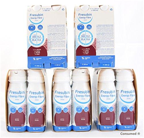 20x 200ml Fresubin Energy Fibre DRINK Kirsche - im exclusiven ConsuMed Bundle inkl. Produktplakat