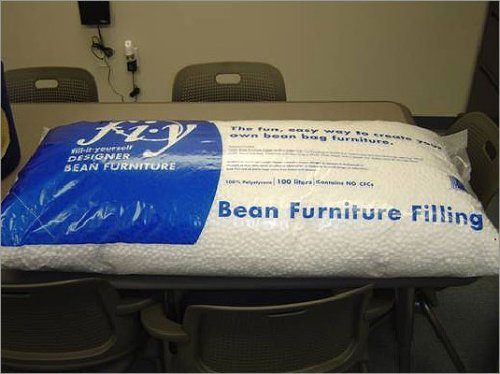 Ace Bayou Bean Bag Refill Polystyrene Beads, 3.5 cu ft