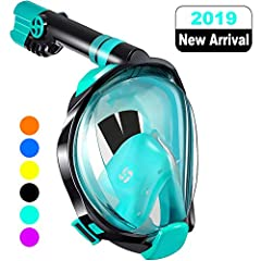 [18 MONTHS FREE REPLACEMENT] From the date of your purchase of WSTOO snorkel mask, the product has failed and can be replaced free of charge within 18 months! So you don't have to worry about wasting your money. If you have any complaints, please fee...