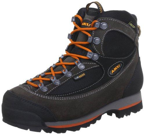 AKU Herren TREKKER LITE II GTX Trekking- & Wanderhalbschuhe, Grau (Anrt./Arancione 170), 42 EU