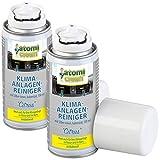 AtomiClean Klimareiniger: 2er-Set Klimaanlagenreiniger Citrus, Silberionen, bakterizid (Klimaanlagen Desinfektion)