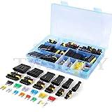 240pcs impermeable coche eléctrico conector 1/2/3/4/5/6 Pin Way terminales con mini automotriz...