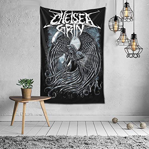 RobinEllis Chelsea Grin Tapestry Blanket Wall Hanging Wall Bedroom Living Room Home Dorm Decor Tapestries 60x40inch