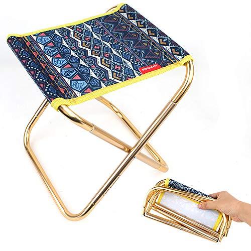 Generieke 7075 aluminium legering open klapstoel volwassenen draagbare mini grill vissen stoel kleine Mazar Trek