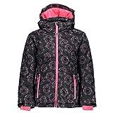 CMP 39w2085 - Chaqueta de esquí para niña, Niñas, Chaqueta, 39W2085, Antracite-Fuxia Fluo-Ghiaccio, 98