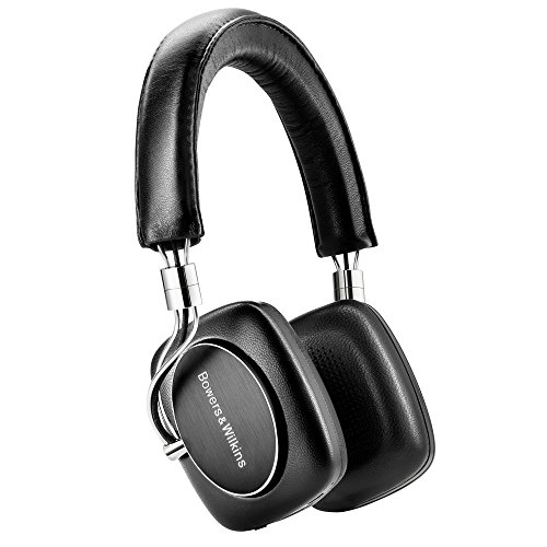 Bowers & Wilkins P5 Wireless - Auriculares, 10 Hz -20 kHz, 3,5 mm Mini-Jack estéreo, color negro