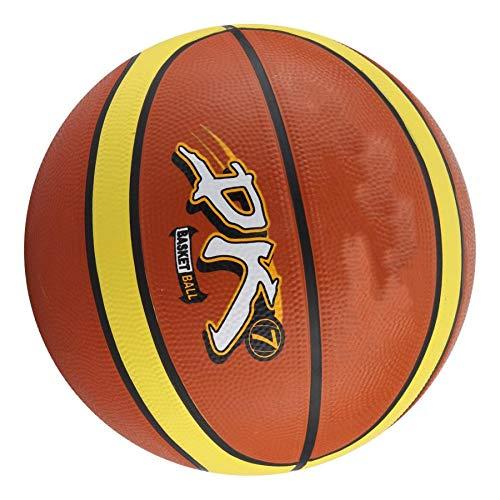 Pelota de Baloncesto Baloncesto De Goma Mini Colorido Adultos Niños Baloncesto Inflable De Goma Miniball Juego Deportivo Red De Pelota