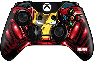 Skinit Decal Gaming Skin for Xbox One Controller - Officially Licensed Marvel/Disney Ironman Close up Design