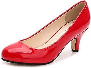 e9e5d8cf27178 Amazon.co.uk: Red - Court Shoes / Women's Shoes: Shoes & Bags