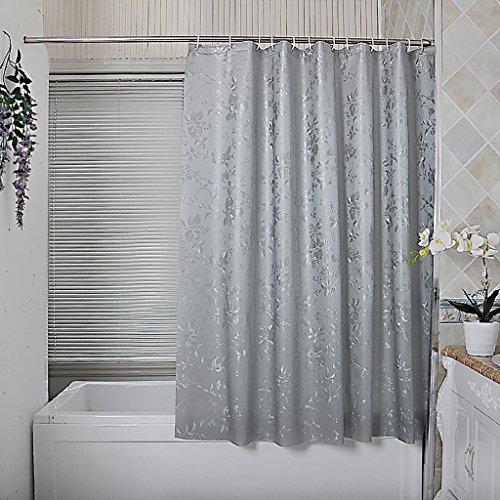 Rideaux de douche Rideau de douche imperméable à l'eau moisissure épais nordique salle de bain Rideau partition rideau occultant rideau tissu Rideaux de douche de haute qualité