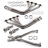 3' Long Tube Exhaust Headers Manifolds & X-Pipe...