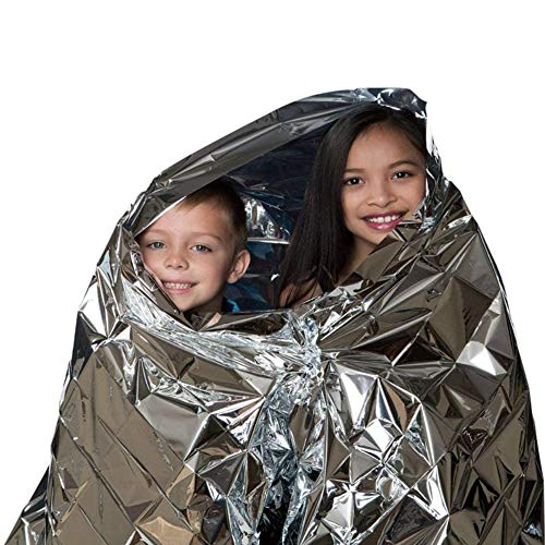 N A Emergency Blankets, Mylar Thermal Solar Blankets for Maximum Protection, Keep Heat Out, Best for Your Survival Kit, Car Kits, Outdoors -10 Packs