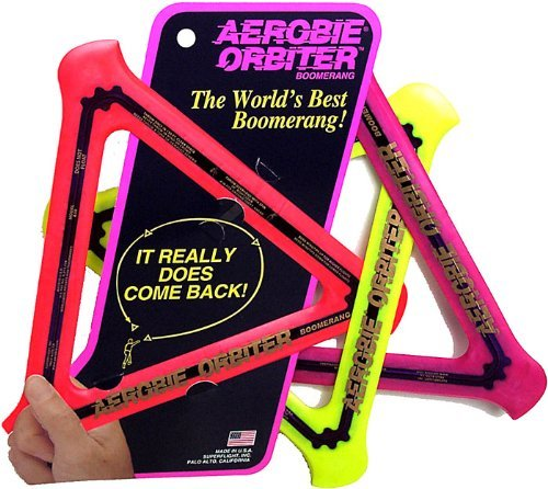 Aerobie Orbiter Boomerang (Color May Vary)