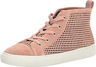 [1.STATE] Womens Dulcia Leather Hight Top Velcro Fashion Sneakers [並行輸入品]