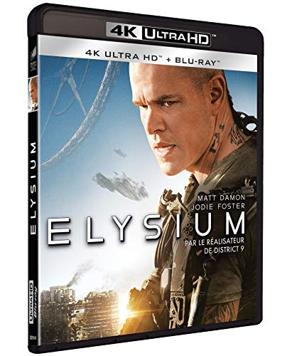 Elysium [4K Ultra HD + Blu-Ray]