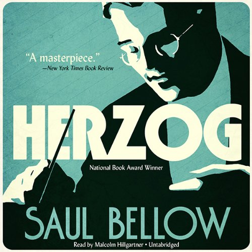Herzog  audiobook cover art