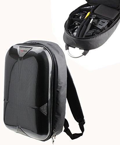 Navitech caméra d'action Housse/Sac à Dos/Cas Compatible avec Denshine 12MP HD 1080P Car Cam Sports DV Action Helmet Camera
