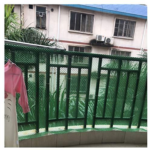 ZGQSW Rete for Recinzione Sicurezza Bambini Rete Anticaduta Balcone Scale Rete for Allevamento di Conigli di Anatra di Pollo Pprotezione Prato Rete in Plastica Verde Impermeabile Resistente all'Usura