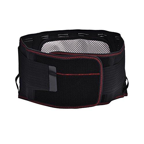 Lumbal Rückenstütze, Selbst Heizung Einstellbare Bauchstütze Gürtel Taille Schutz Unterstützung(XL)
