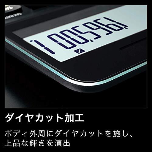 『カシオ CASIO プレミアム電卓 12桁 ブラック S100』の3枚目の画像