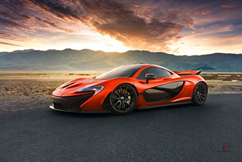 Gifts Delight Laminated 35x24 Poster: McLaren P1