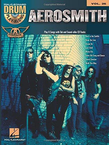 Aerosmith Drum Playalong Vol.26 + Cd