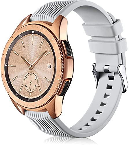 Shieranlee Correa Compatible con Samsung Galaxy Active 2 de 44 mm, 40 mm, Galaxy Watch 42 mm, Galaxy Watch 3 de 41 mm, Activa, Universal de 20 mm, Correa de Repuesto para Mujer y Hombre