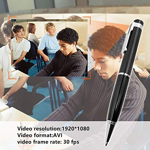Mini Stifte Kameras with 32GB Micro SD,HD 1080p Tragbare Kleine Überwachungskamera für Home Office Überwachung Nanny Cam Unterstützung Bewegungserkennung mit 5 Tinte Fills Inc