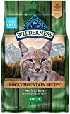 Blue Buffalo Wilderness Rocky Mountain Recipe High Protein, Natural Adult Dry Cat Food, Rabbit 4-lb