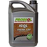 GT Garden Huile de chaîne filante Bio IGOL pour tronçonneuse et élagueuse - 5 litres