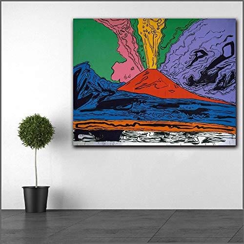 Pop Art olieverfschilderij Amerikaanse kunstenaar II Art Wall Canvas Picture Frameless schilderij 30X30CM