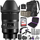Sigma 35mm f/1.4 DG HSM Art Lens for Sony E Mount Cameras with Altura Photo...