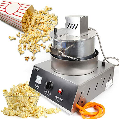 Great Features Of Ethedeal Popcorn Machine - 110V 25W 500g Single Pot Spherical Popcorn Machine Gas ...