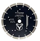 Staplefords Laser Welded Ultra Hard Diamond Blade - Universal 230mm - Our Premium Blade - Diamond Segmented...