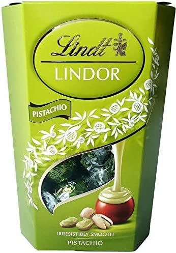 Lindt Lindor Pistachio Chocolate Truffles 200 g 7 2 oz product image