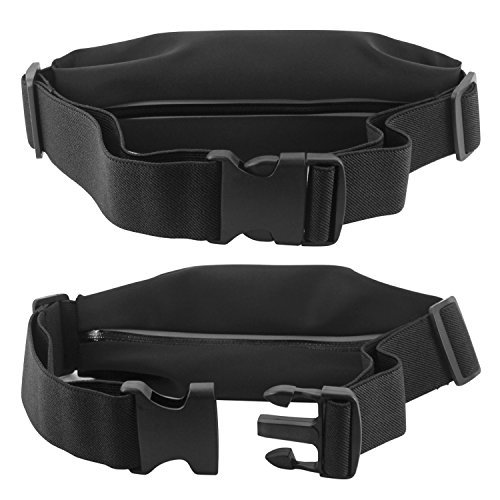 Cellet Sports Armband, Sweat Resistant Exercise Storage Belt Armband Case- Universal Compatibility including iPhone 6s / 6 PLUS / 7 / 7 Plus / Samsung S7 Edge / Note 4/ 5 /s7 and More - Clear
