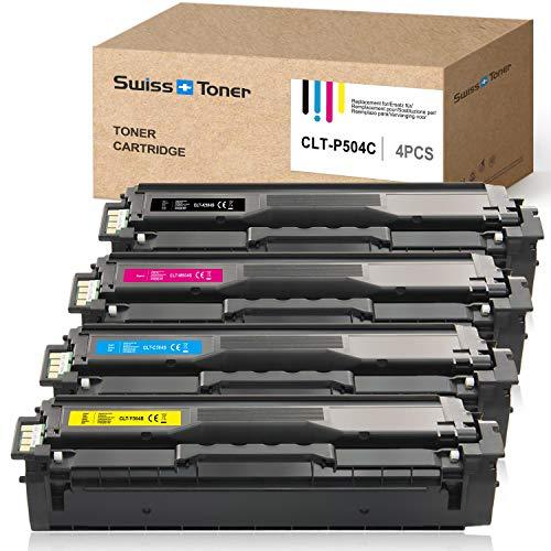 SWISS TONER 1 Satz CLT-P504C Kompatibel Samsung CLT-K504S CLT-M504S CLT-Y504S CLT-C504S Toner für Samsung Xpress C1860FW C1810W CLX-4195FN CLX-4195FW CLX-4195N CLP-415N CLP-415NW Drucker