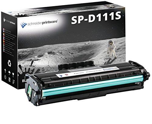 Schneider Printware Toner   200 Prozent mehr Druckleistung   kompatibel zu Samsung MLT-D111S D111S für Samsung Xpress M2020 M2022 M2022W M2026 M2026W M2070 M2070F M2070FW M2070W,3.000 Seiten
