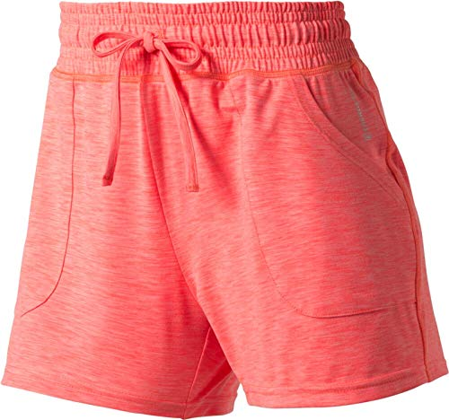 ENERGETICS Damen Korana Shorts, Red Light/Melange, 38