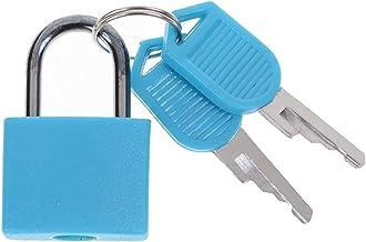 Deurslot 6 kleuren kleine sterke stalen hangslot koffer lade lock bagage case sleutelhangslot anti-diefstal sloten met 2 s...