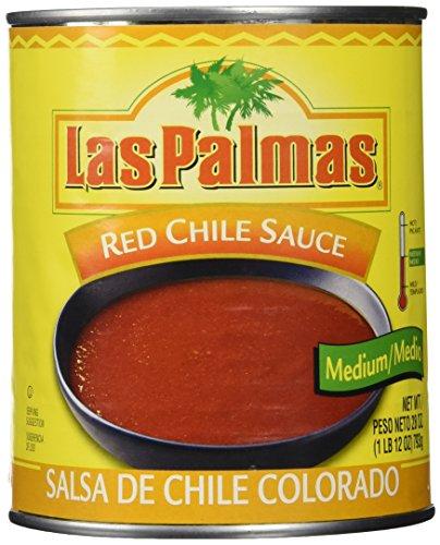 Las Palmas Red Medium Chili Sauce 28 oz