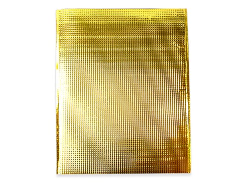 コンポス 保冷袋 平袋 ゴールド 金色 LLサイズ 外寸:380×475mm 内テープなし 手穴なし (100枚セット)