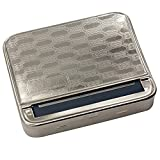 Lemoning Easter 70MM Automatic Rolling Machine Tin Box Metal Roller Cigarette Tobacco Roll Up Supplies for Kitchen Easter St Patrick's Day