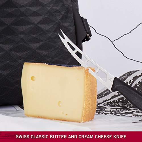 VICTORINOX(ビクトリノックス)バター&クリームチーズナイフブラック13cmスイスクラシックバターナイフ6.7863.13B