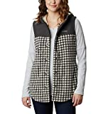 Columbia Women's Benton Springs Overlay Vest, Chalk Houndstooth, X-Large