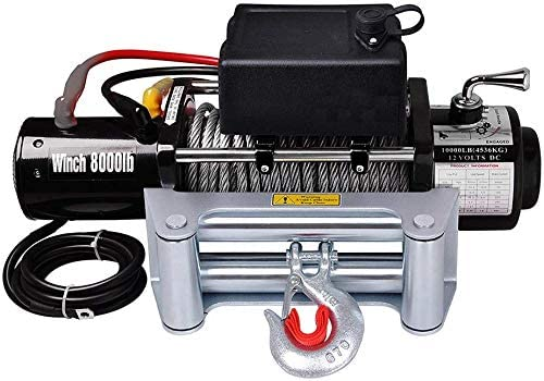 4-Way Roller Fairlead Wireless 8 Winch Electric Bargain Purchase 000LBS 12V 5.5HP