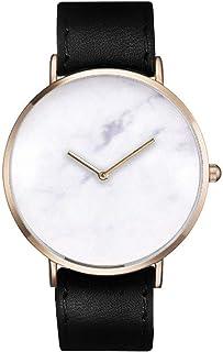 ساعة ساوث لاين سويسرية كوارتز بسوار جلد عجل, اسود 20 (الموديل: SS20-dr1-4655)