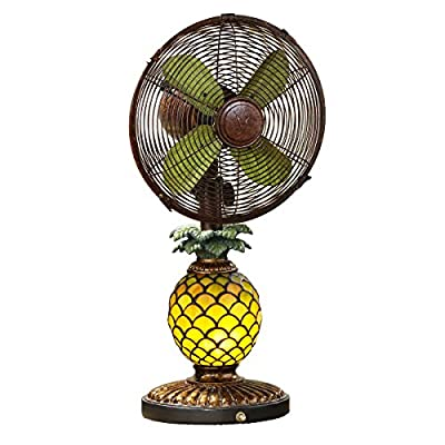 Pineapple Table Lamp cum Fan