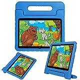 LEEBOSS Niños Funda Para Huawei Mediapad T3 10 (9.6 Pulgadas), A Prueba De Golpes Ligero Soporte De Manija Protectora Cubierta De Los Niños Para Huawei Mediapad T3 10 (9.6') - Azul