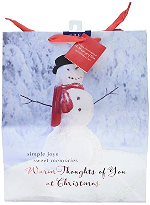 Large Specialty Gift Bag - Christmas - Thoughts of You Snowman